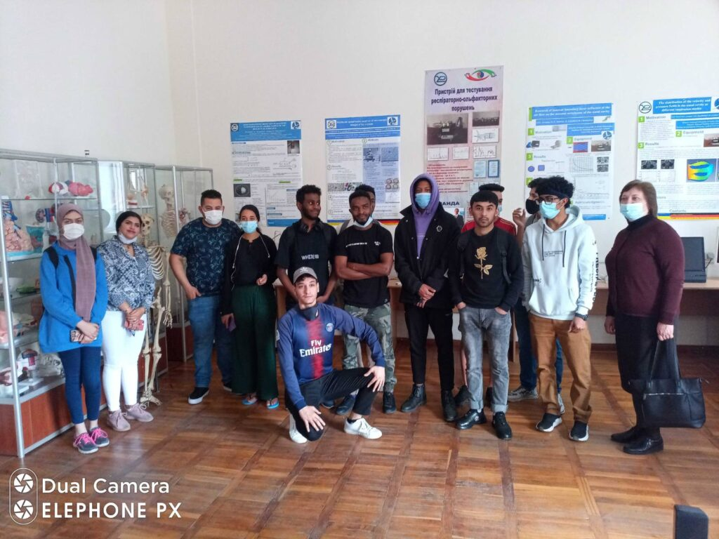 EXCURSION TO THE BME (BIOMEDICAL ENGINEERING) DEPARTMENT